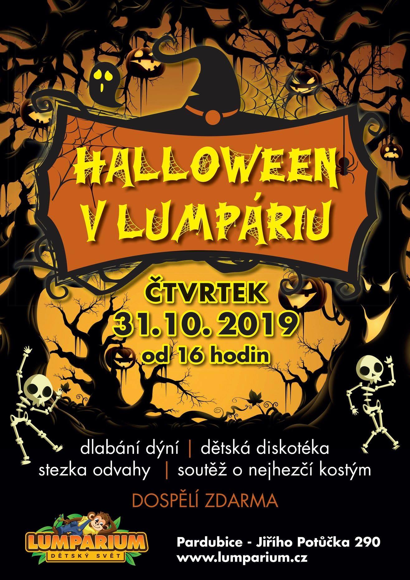Halloween v Lumpáriu 2019