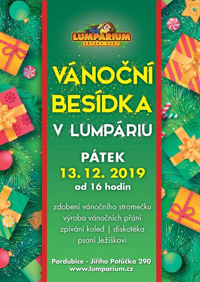 Vánoční besídka Lumpárium 2019