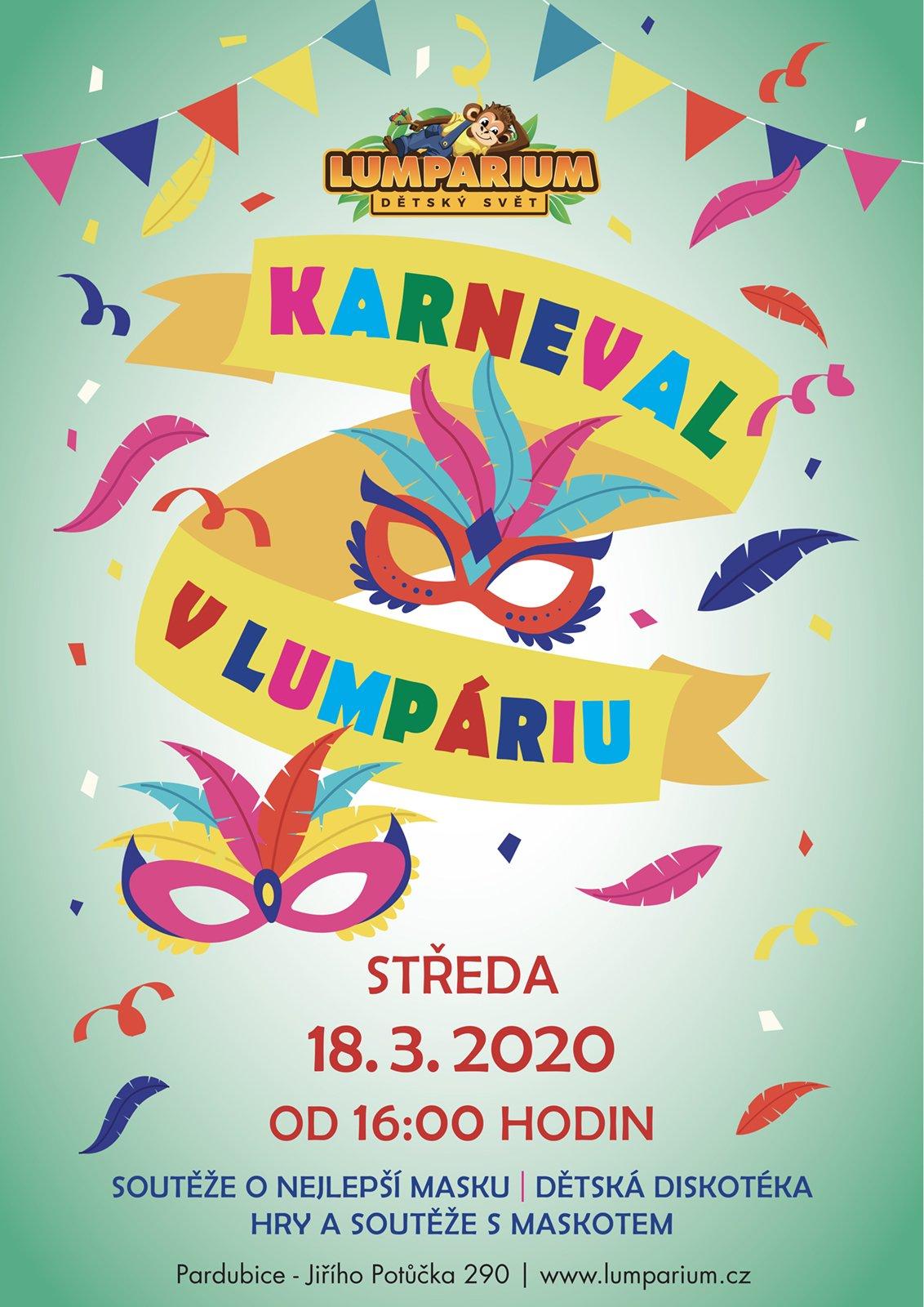 Karneval v Lumpáriu 2020