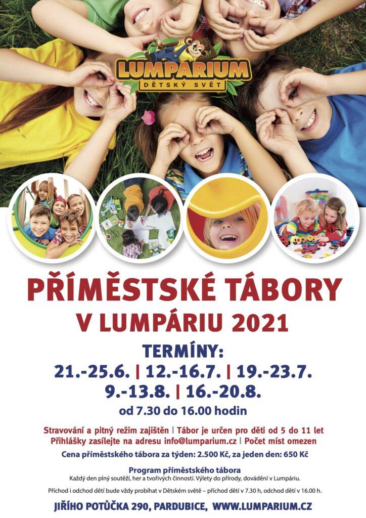 Příměstský tábor Pardubice - Lumpárium 2021