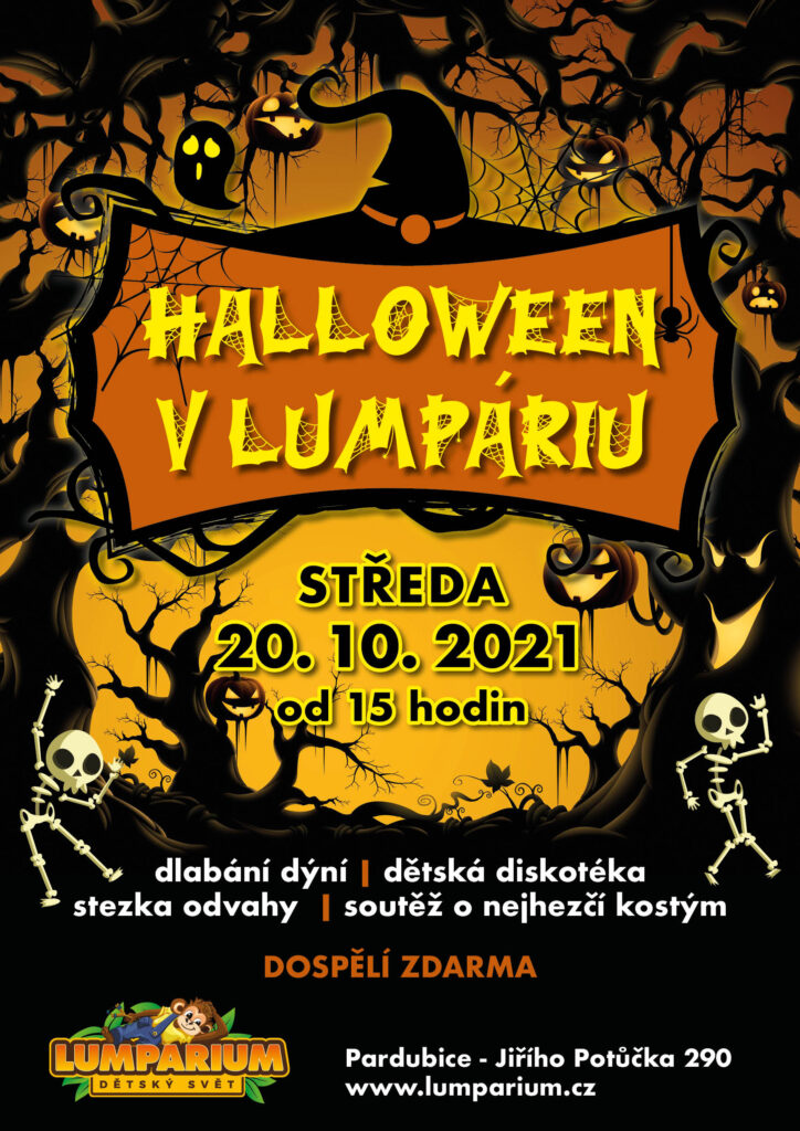 Halloween v Lumpáriu 2021